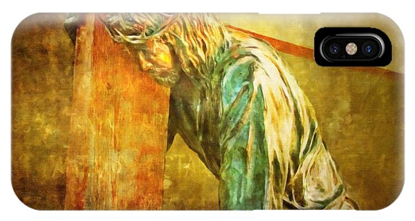 Jesus Falls Via Dolorosa 3 IPhone Case