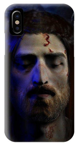 Jesus In Death IPhone Case