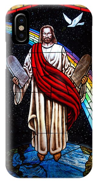 Jesus In Stain Glass IPhone Case