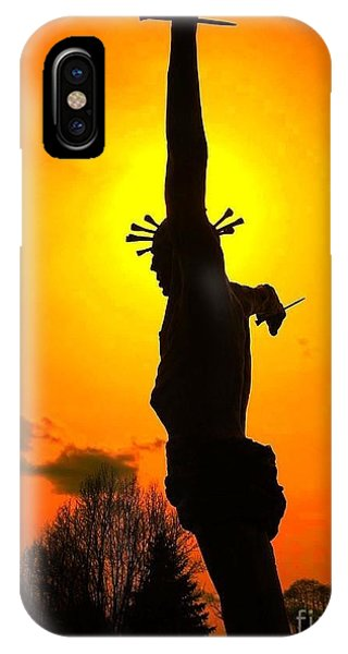 Jesus In Sunset 1 Hope IPhone Case