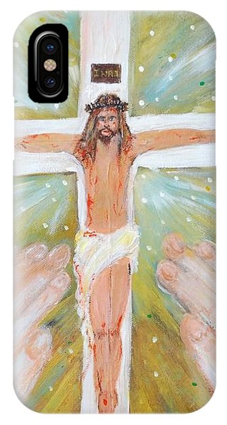 Jesus - King Of The Jews IPhone Case