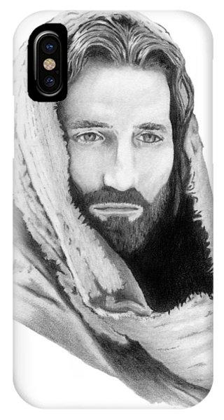 Jesus Phone Case by Linda Bissett