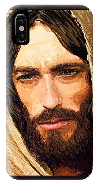 Jesus Of Nazareth Portrait IPhone Case