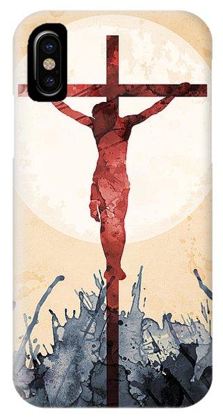 Jesus Our Savior IPhone Case