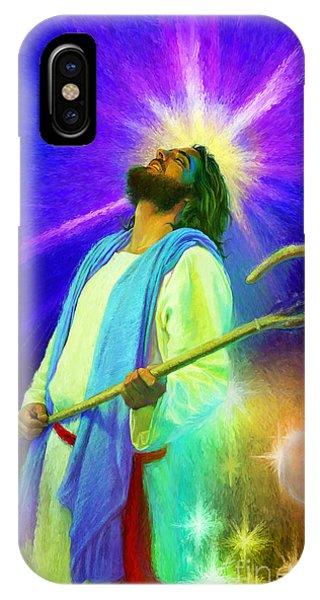 Jesus Rocks IPhone Case