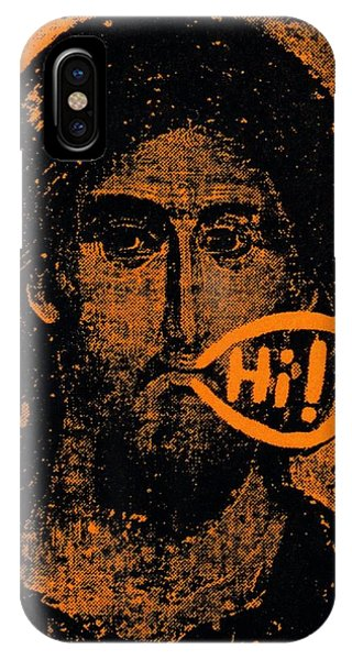 Jesus Says Hi IPhone Case