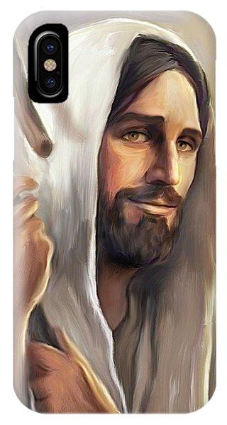 Jesus The Shepherd IPhone Case