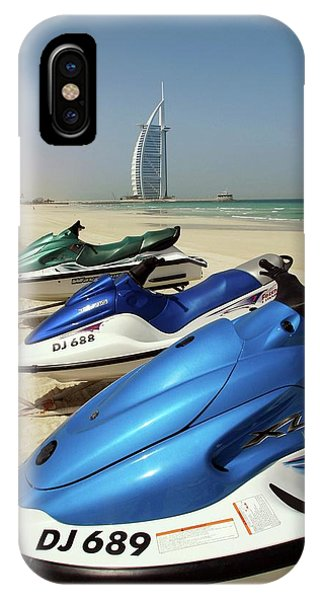 Jet Ski iPhone Case - Jet Skis by Peter Menzel/science Photo Library