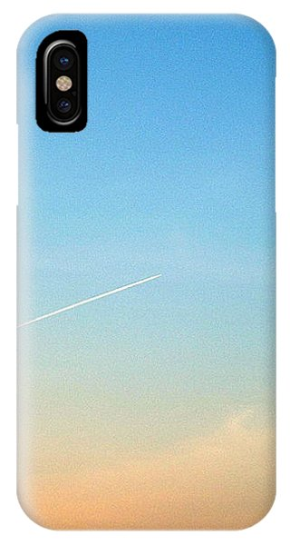 Jet To Sky IPhone Case