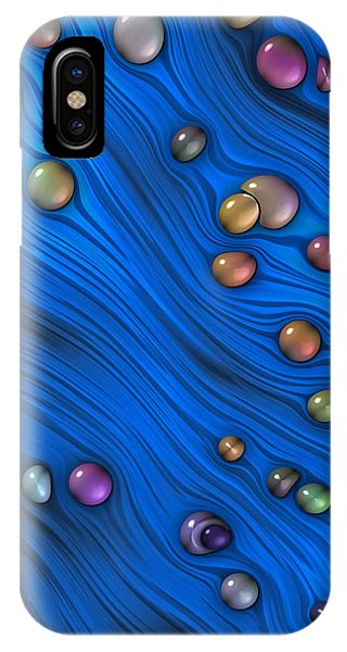 Jewels In Blue Flow IPhone Case