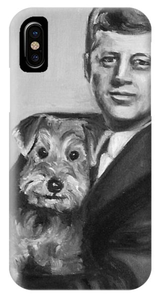 Jfk And Charlie IPhone Case