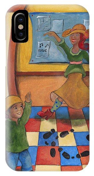Jhonan And His Teacher  IPhone Case