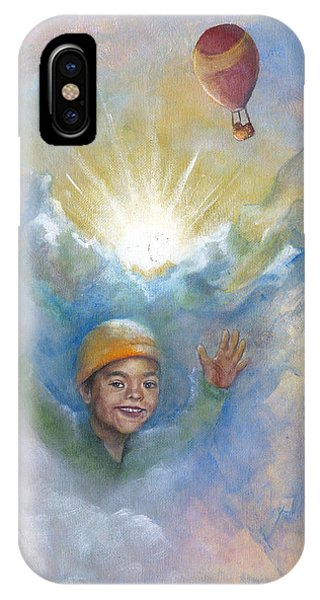 Jhonan And The Hot Air Balloons IPhone Case