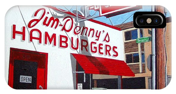 Jim-dennys No. 4 Phone Case by Paul Guyer