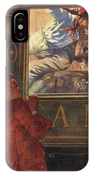 Jim Hawkins Sees Israel Hands  And Red Phone Case by Mary Evans Picture Library