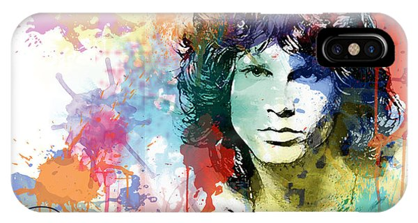 Jim Morrison IPhone Case