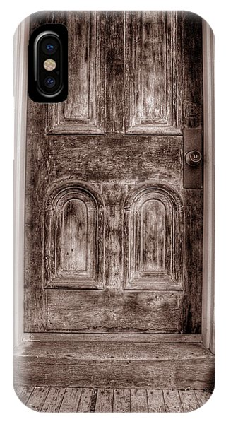 IPhone Case featuring the photograph Jim Thorpe Doorway by Michael Kirk