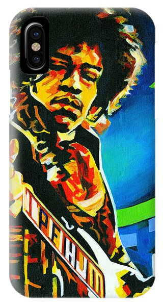 Bold As Love. Jimi Hendrix  IPhone Case