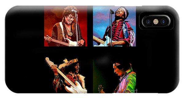 Popstar iPhone Case - Jimi Hendrix Collection by Paul Meijering