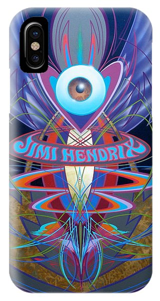 Jimi Hendrix Memorial IPhone Case
