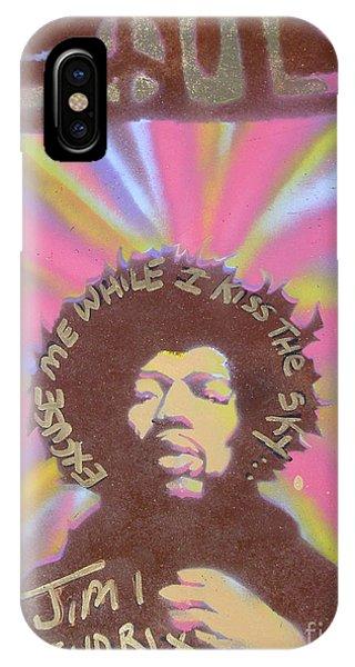 Mtv iPhone Case - Jimi Hendrix Pastel by Tony B Conscious
