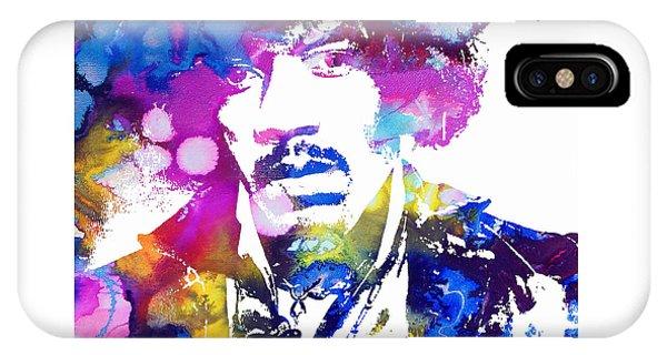 Jimi Hendrix - Stoned IPhone Case