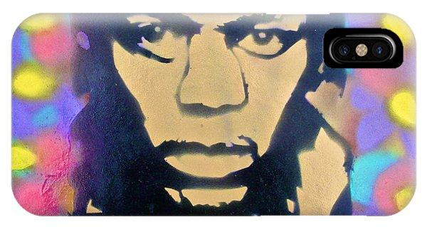 Mtv iPhone Case - Jimi Hendrix Squared by Tony B Conscious