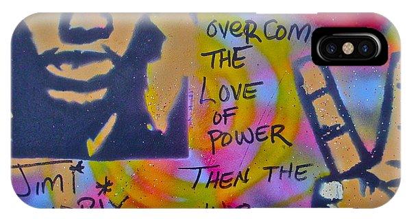 Mtv iPhone Case - Jimi Power by Tony B Conscious