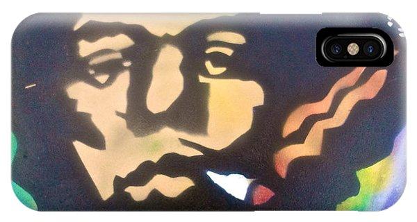 Mtv iPhone Case - Jimi Smoking by Tony B Conscious