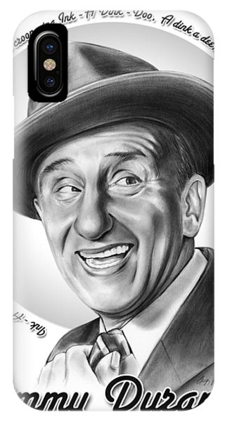Jimmy Durante IPhone Case