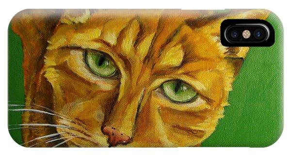 Jing Jing - Cat IPhone Case