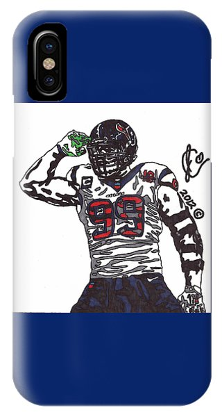 Jj Watt 1 IPhone Case