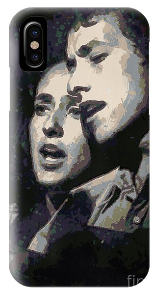 Joan Baez And Bob Dylan IPhone Case