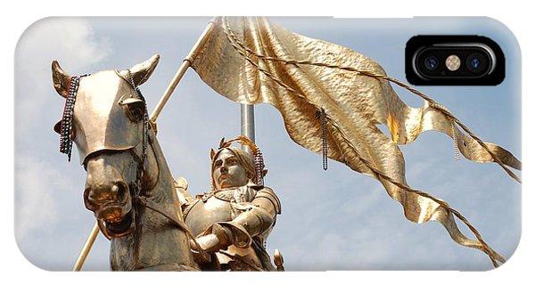 Joan Of Arc Phone Case by Pamela Schreckengost