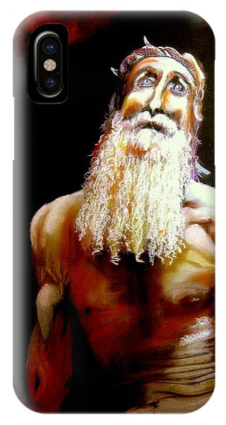 Job Questions God IPhone Case