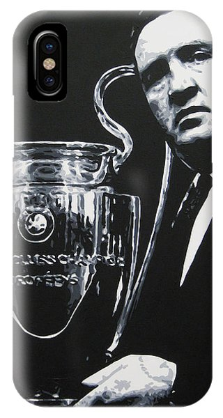 save off 24cfc a6cbe Jock Stein - Celtic Fc IPhone X Case for Sale by Geo Thomson