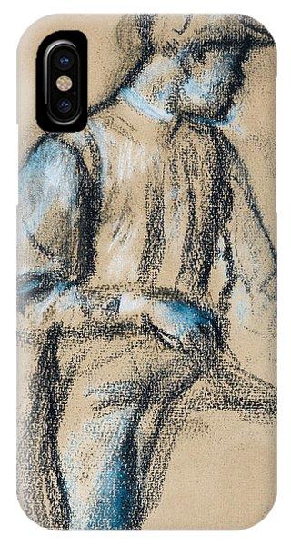Impressionistic iPhone Case - Jockey by Edgar Degas