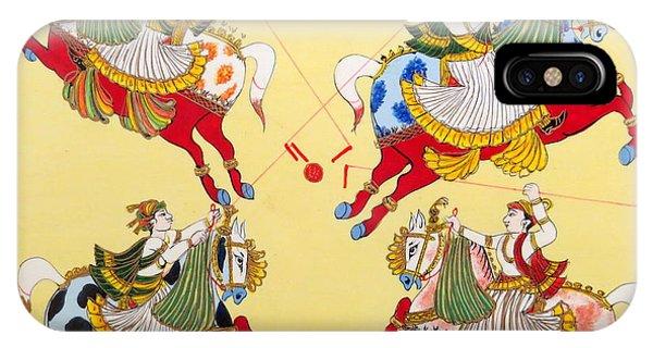 Jodhpur Polo IPhone Case