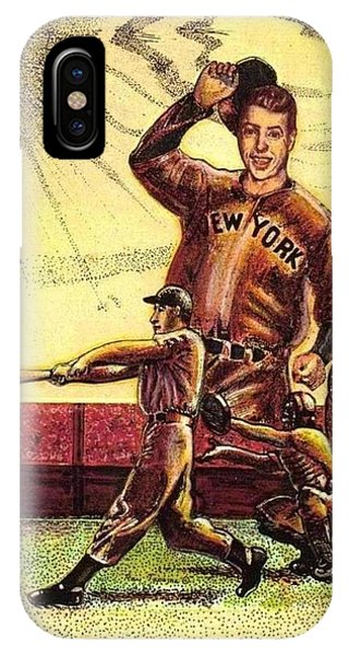 Joe Dimaggio Yankee Clipper IPhone Case