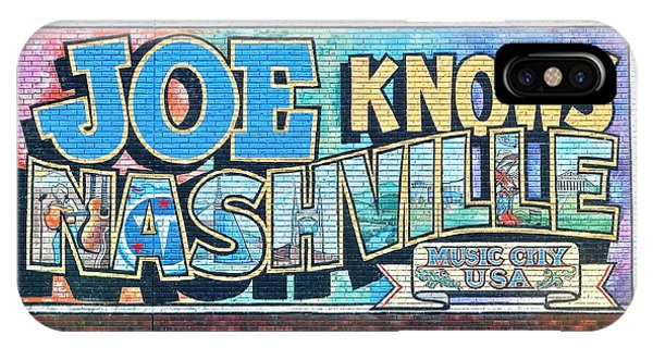 Inner World iPhone Case - Joe Knows Nashville by Frozen in Time Fine Art Photography