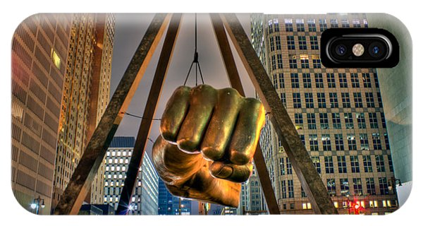 Joe Louis Fist Detroit Mi IPhone Case