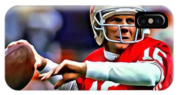 Joe Montana IPhone Case