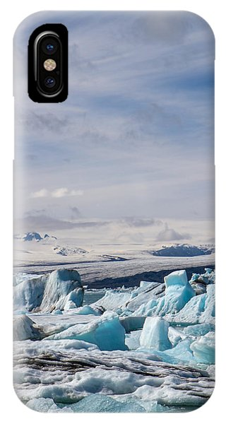 Joekulsarlon Glacial Lagoon IPhone Case
