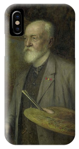 Johannes Gijsbert Vogel 1828-1915 Phone Case by Litz Collection