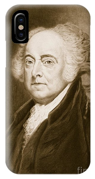 United States Presidents iPhone Case - John Adams by George Healy