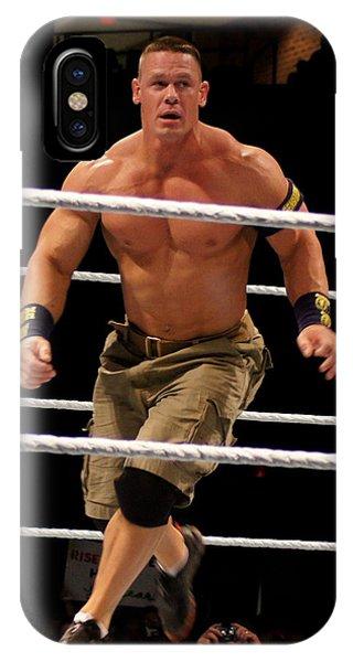 John Cena In Action IPhone Case
