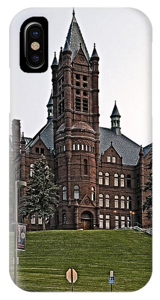 John Crouse Memorial College For Women IPhone Case