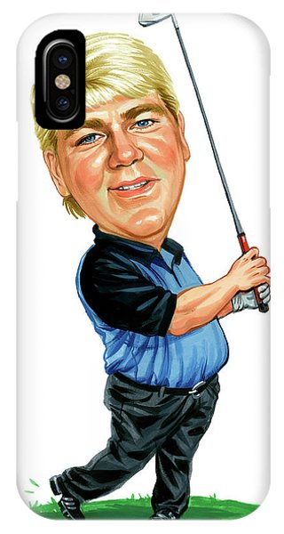 Golf iPhone Case - John Daly by Art
