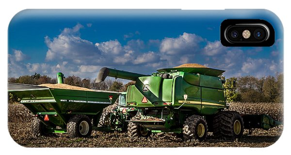John Deere Combine 9770 IPhone Case
