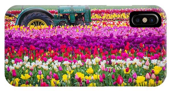 John Deere In Spring IPhone Case